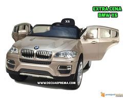 BMW X6 Auto na akumulator sa daljinskim upravljanjem Champagne - Slika 1/2