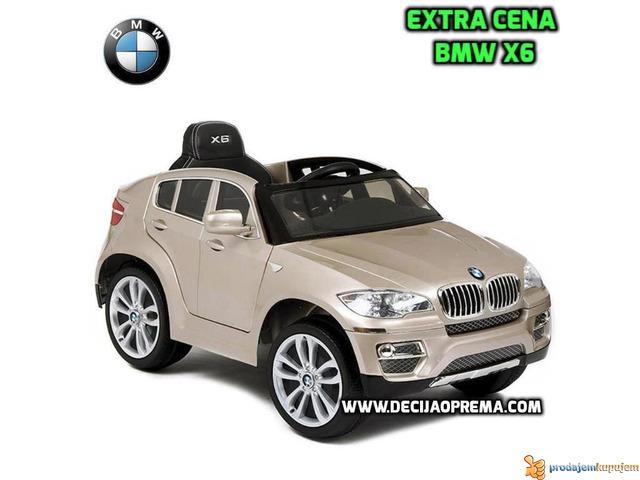 BMW X6 Auto na akumulator sa daljinskim upravljanjem Champagne - 2/2