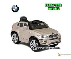 BMW X6 Auto na akumulator sa daljinskim upravljanjem Champagne - Slika 2/2