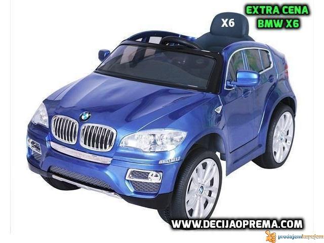 BMW X6 Auto na akumulator sa daljinskim upravljanjem Plavi - 1/1