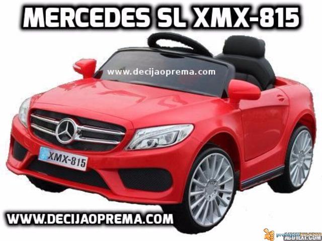 Mercedes SL xmx 815 Auto na akumulator sa daljinskim Crveni - 1/2