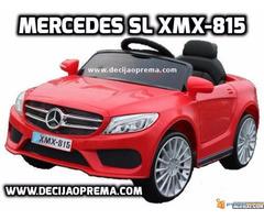 Mercedes SL xmx 815 Auto na akumulator sa daljinskim Crveni - Slika 1/2