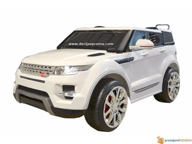 Range Rover Auto na akumulator 12V Beli - 1/1