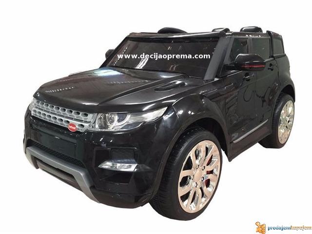 Range Rover Auto na akumulator 12V Crni - 1/1