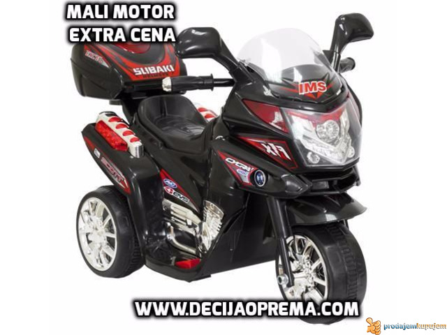 Akcija Mali Motor Crni - 1/1
