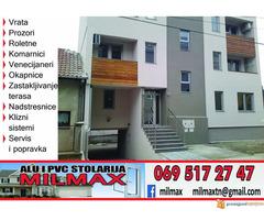 Proizvodnja i servis ALU i PVC stolarije u Beogradu