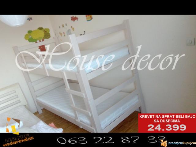 Kreveti na sprat sa 2 duseka od 21.399 - 1/1