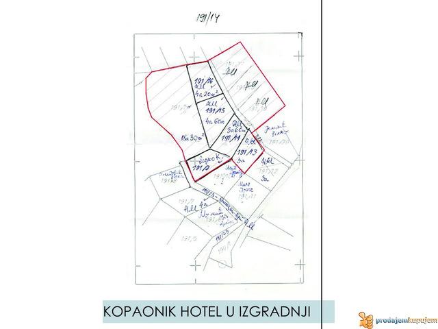 KOPAONIK HOTEL U IZGRADNJI - 1/5