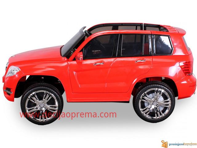Mercedes GLK 300 Auto na akumulator 12V sa daljinskim Crveni - 3/4