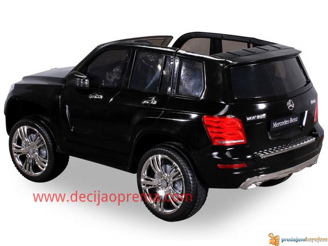Mercedes GLK 300 Auto na akumulator 12V sa daljinskim Crni - 3/3