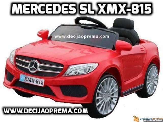 Mercedes SL xmx 815 Auto na akumulator sa daljinskim Crveni - 1/3