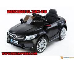 Mercedes SL xmx 815 Auto na akumulator sa daljinskim Crni - Slika 1/3