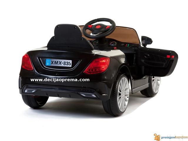Mercedes SL xmx 815 Auto na akumulator sa daljinskim Crni - 3/3
