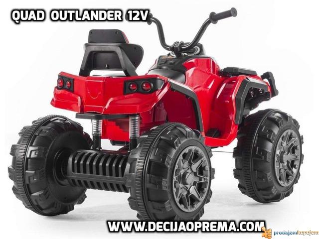 Quad Outlander 12v Crveni - 2/2
