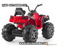 Quad Outlander 12v Crveni - Slika 2/2