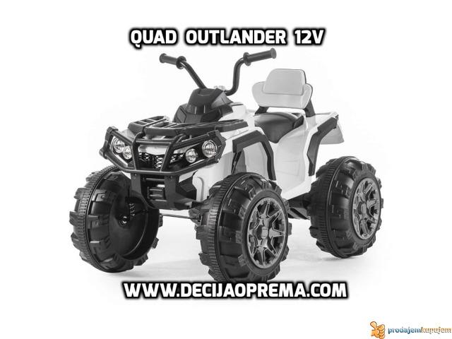 Quad Outlender 12v Beli - 1/2