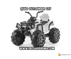 Quad Outlender 12v Beli - Slika 1/2