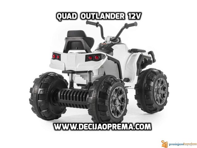 Quad Outlender 12v Beli - 2/2