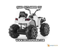 Quad Outlender 12v Beli - Slika 2/2