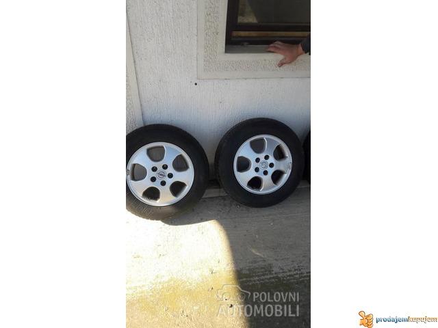 Opelove felne sa gumama 5x110 - 1/4