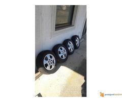 Opelove felne sa gumama 5x110