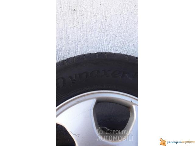 Opelove felne sa gumama 5x110 - 3/4