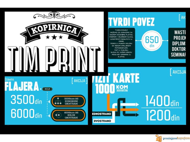 FOTOKOPIRNICA - STAMPARIJA TIM PRINT - 4/5