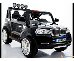 BMW X5 Off-Road auto za decu na akumulator 12V dvosed Crni - Slika 2/2