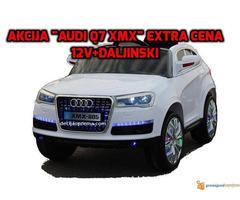 Audi Q7 Auto na akumulator sa daljinskim upravljanjem Beli
