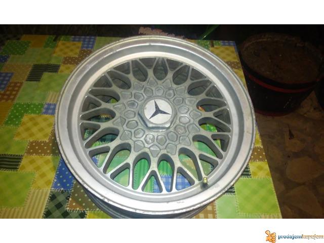 Alu felne Mercedes 190, 124 - 1/3