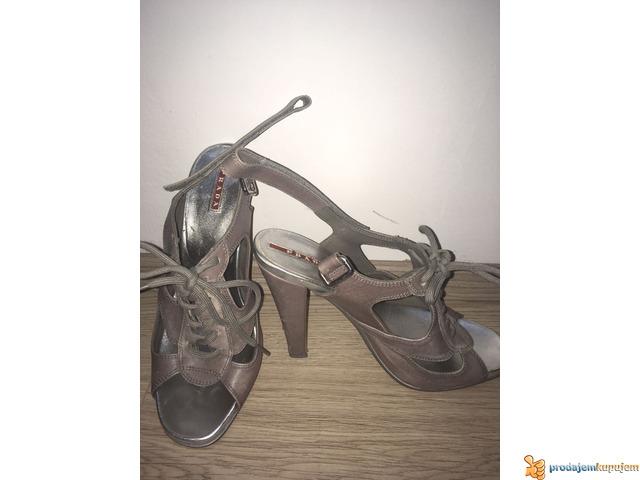 PRADA kozne sandale-original - 4/6