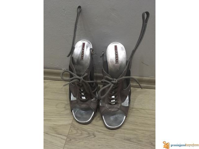 PRADA kozne sandale-original - 1/6