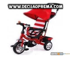 Tricikl za decu Playtime Crveno Beli