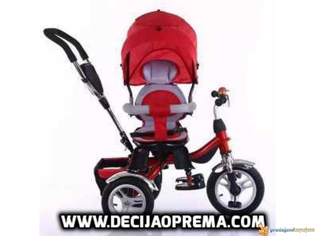 Tricikl za decu Playtime Roto Crveni - 2/3