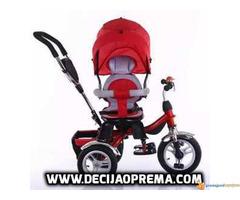 Tricikl za decu Playtime Roto Crveni - Slika 2/3