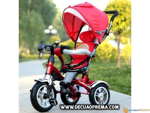 Tricikl za decu Playtime Roto Crveni - 3/3
