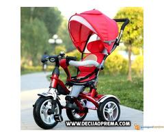 Tricikl za decu Playtime Roto Crveni - Slika 3/3