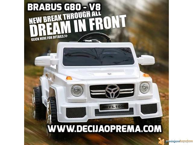 Mercedes Brabus G80 V8 Beli - 1/4