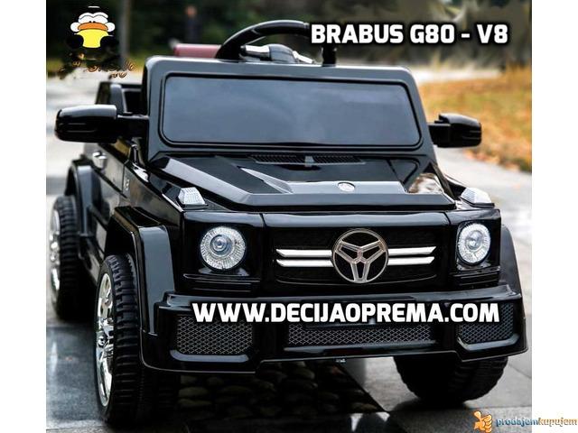 Mercedes Brabus G80 V8 Crni - 1/4