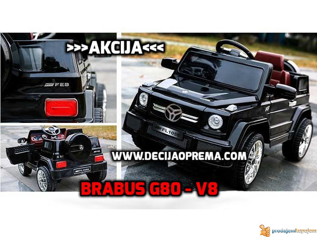 Mercedes Brabus G80 V8 Crni - 4/4