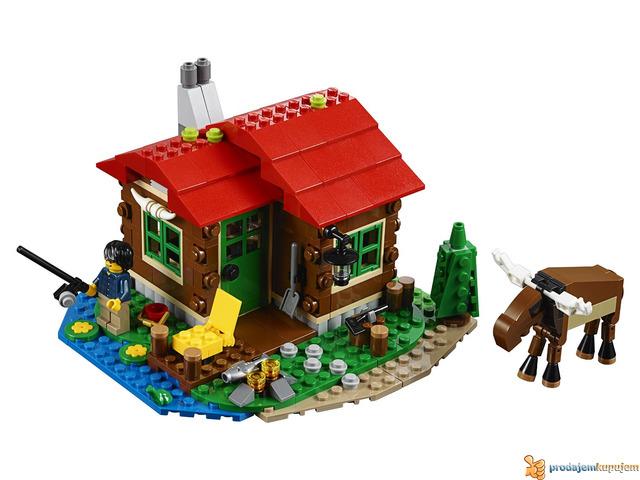 Lego Creator Lakeside Lodge 31048 - 3/4