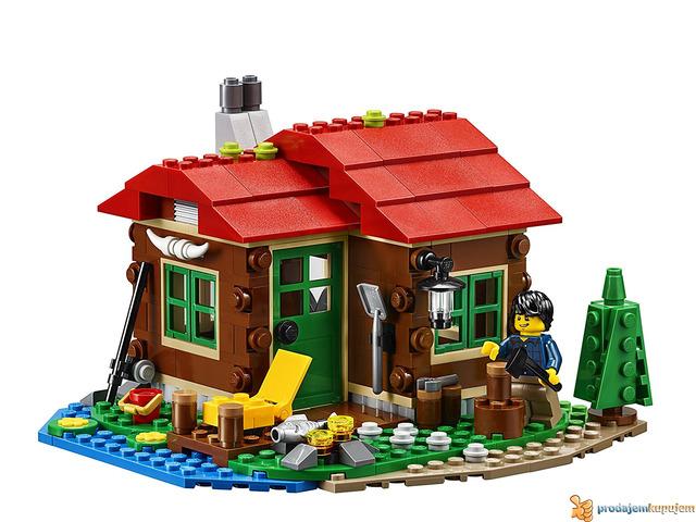 Lego Creator Lakeside Lodge 31048 - 4/4