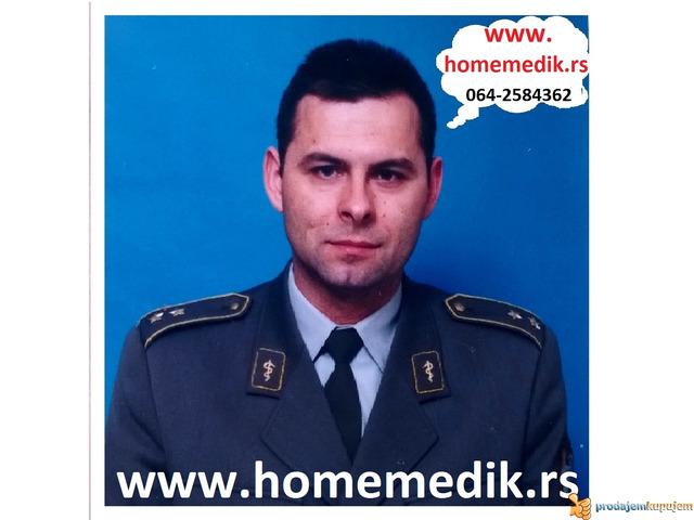 Mobilni BG medicinski tehničar, fizioterapeut, prevoz, lekar, hausmajstor - 1/1