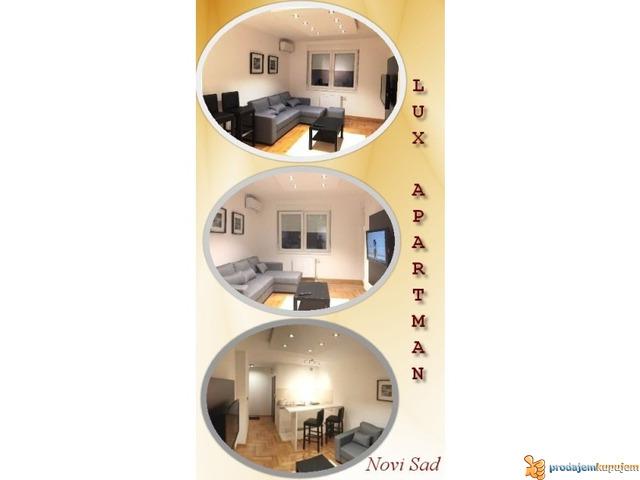 Lux Apartman Na Dan u Centru Novog Sada - 1/2