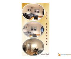 Lux Apartman Na Dan u Centru Novog Sada - Slika 1/2