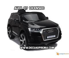 Audi Q7 Licensed na akumulator za decu Crni - Slika 1/3