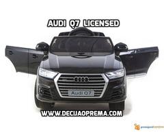 Audi Q7 Licensed na akumulator za decu Crni - Slika 2/3