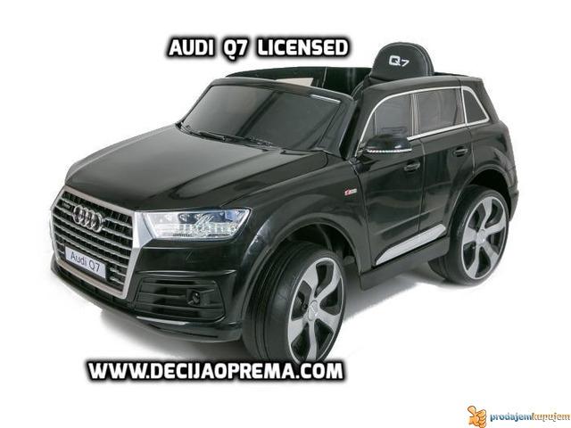Audi Q7 Licensed na akumulator za decu Crni - 3/3