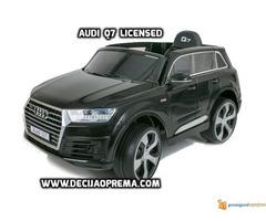 Audi Q7 Licensed na akumulator za decu Crni - Slika 3/3
