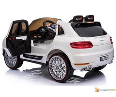 Porsche Cayenne Sport na akumulator za decu Beli - Slika 2/3